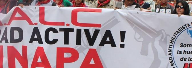Programa: Encuentro de la Red Antimilitarista de  América Latina y el Caribe (RAMALC) en Paraguay