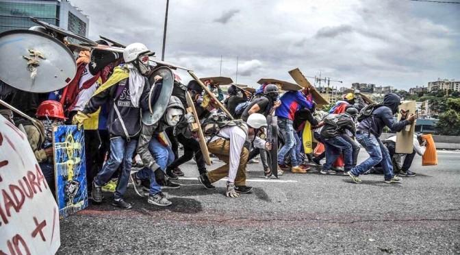 Webinar RAMALC: ¿Son pacíficas las protestas que ocurren en Venezuela?