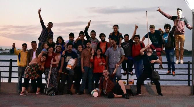 Acción directa contra la militarización de los cuerpos y territorios en Asunción
