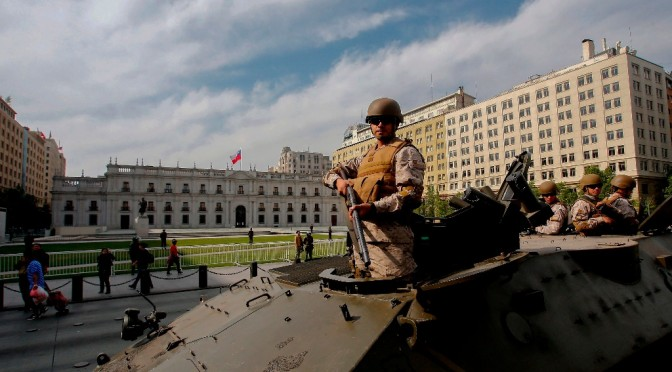 Declaración Ramalc (Red Antimilitarista de América Latina y el Caribe) sobre la protesta social en Chile