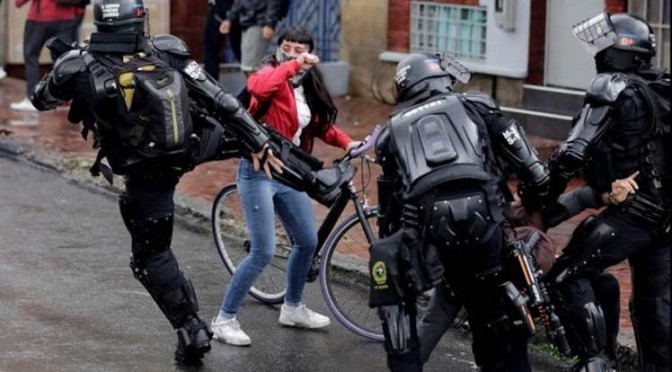 COLOMBIA – Desmonte del Escuadrón Movil Antidisturbios